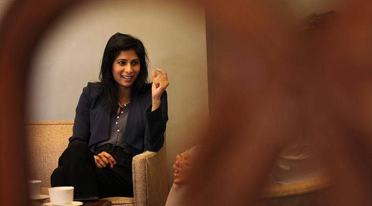Gita Gopinath joins IMF as its first female chief economist
