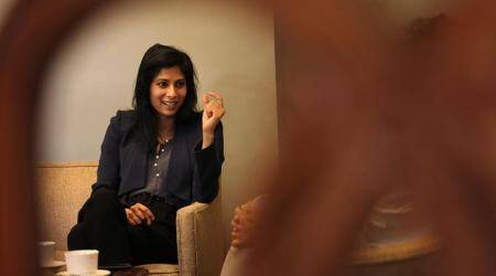 Gita Gopinath, Gita Gopinath IMF, Gita Gopinath on indian economcy, indian express news