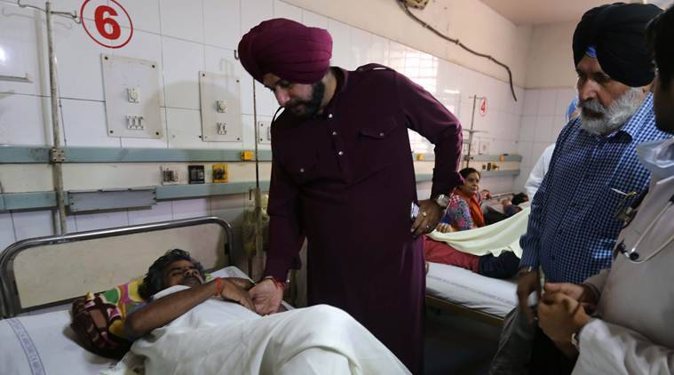 Amritsar train tragedy: Sidhu confronted by man who lost his son; demands FIR against organizers