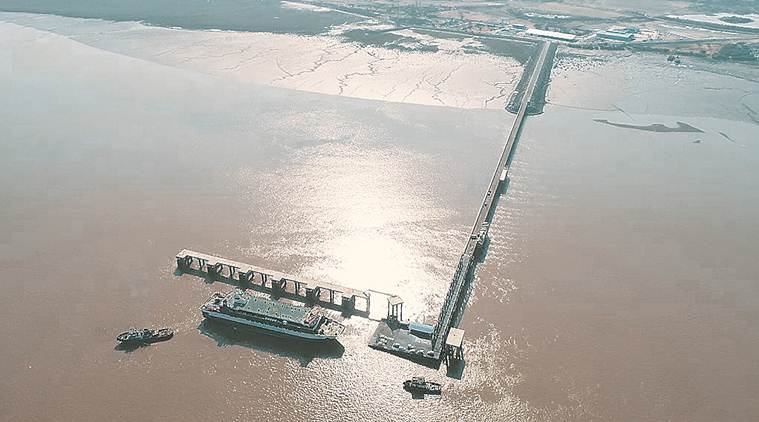 Month after launch, Ro-Pax ferry gets stranded mid-sea, towed to Ghogha