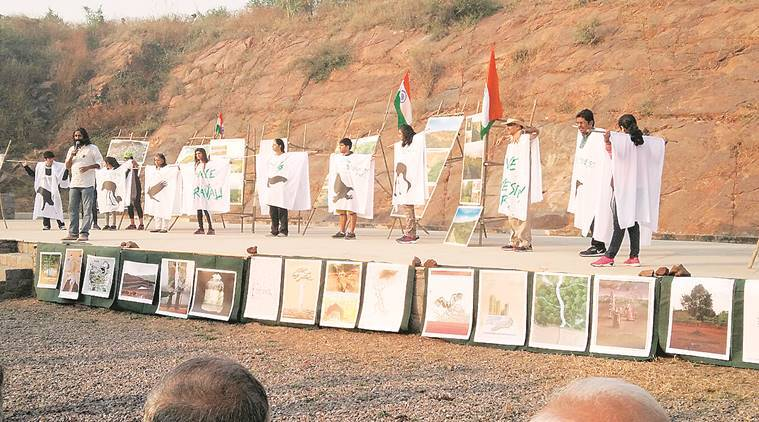 Gurgaon residents take up fight against road project through Aravalli park