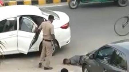 Gurgaon: Judge's wife, son shot at by policeguard