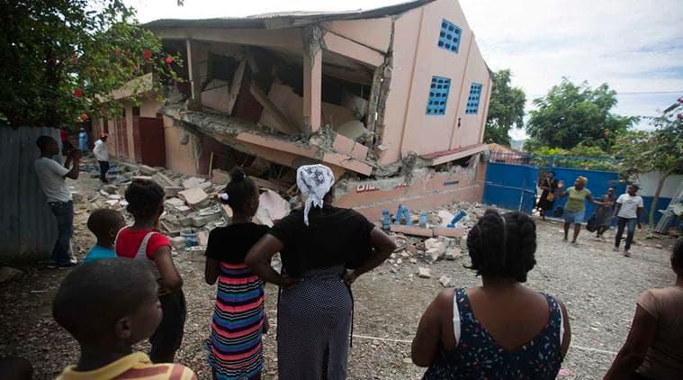 Haiti earthquake, people dead, Indian Express