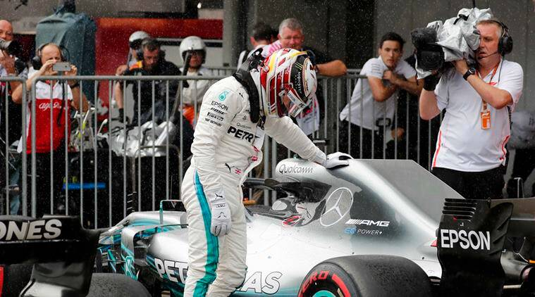 Hamilton keeps foot down in final Japan practice