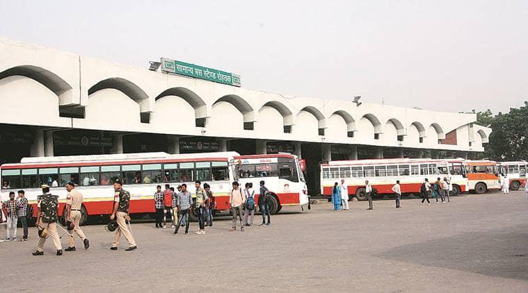 haryana bus strike, haryana transport employees, haryana roadways, indian express,latest news