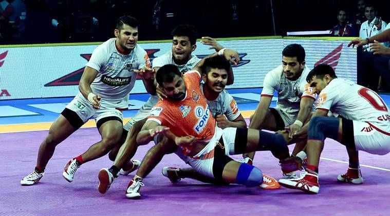 Pro Kabaddi 2018 Highlights Haryana Steelers Lose To Puneri