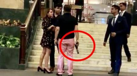 Former BSP MP's son waves gun at Delhi hotel, booked; party distances itself from incident