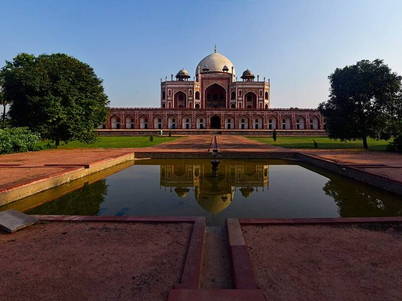 architectural monuments of mughal period