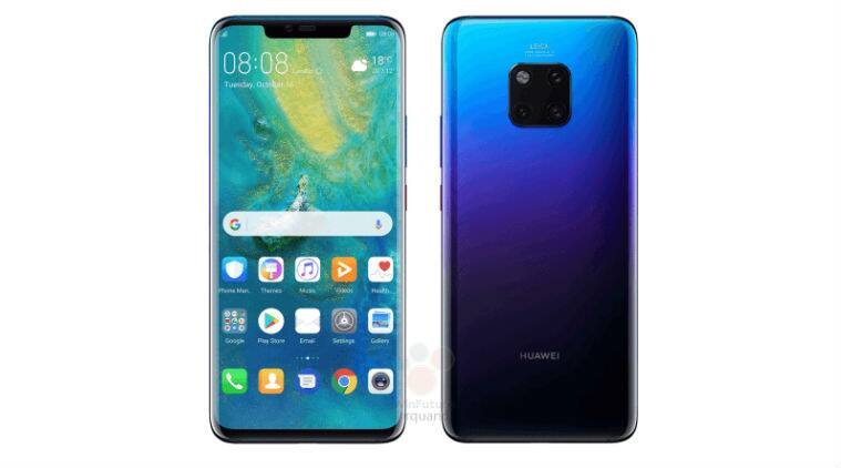 Huawei launches Mate 20 Pro with supersize 2K+ OLED screen