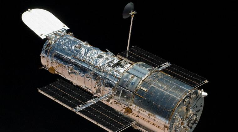 Spacecraft, Spaceflight, Space observatories, Outer space, Edwin Hubble, Great Observatories program, Hubble Space Telescope, Lockheed Corporation, Gyroscope, NASA, STS-125, STS-103, National Aeronautics and Space Administration, United States