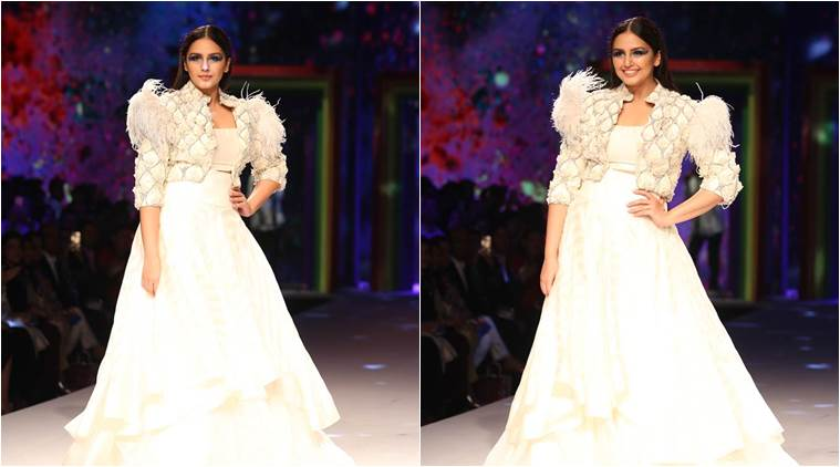 Lotus Makeup India Fashion Week Finale: Huma Qureshi looks stunning in this ivory outfit