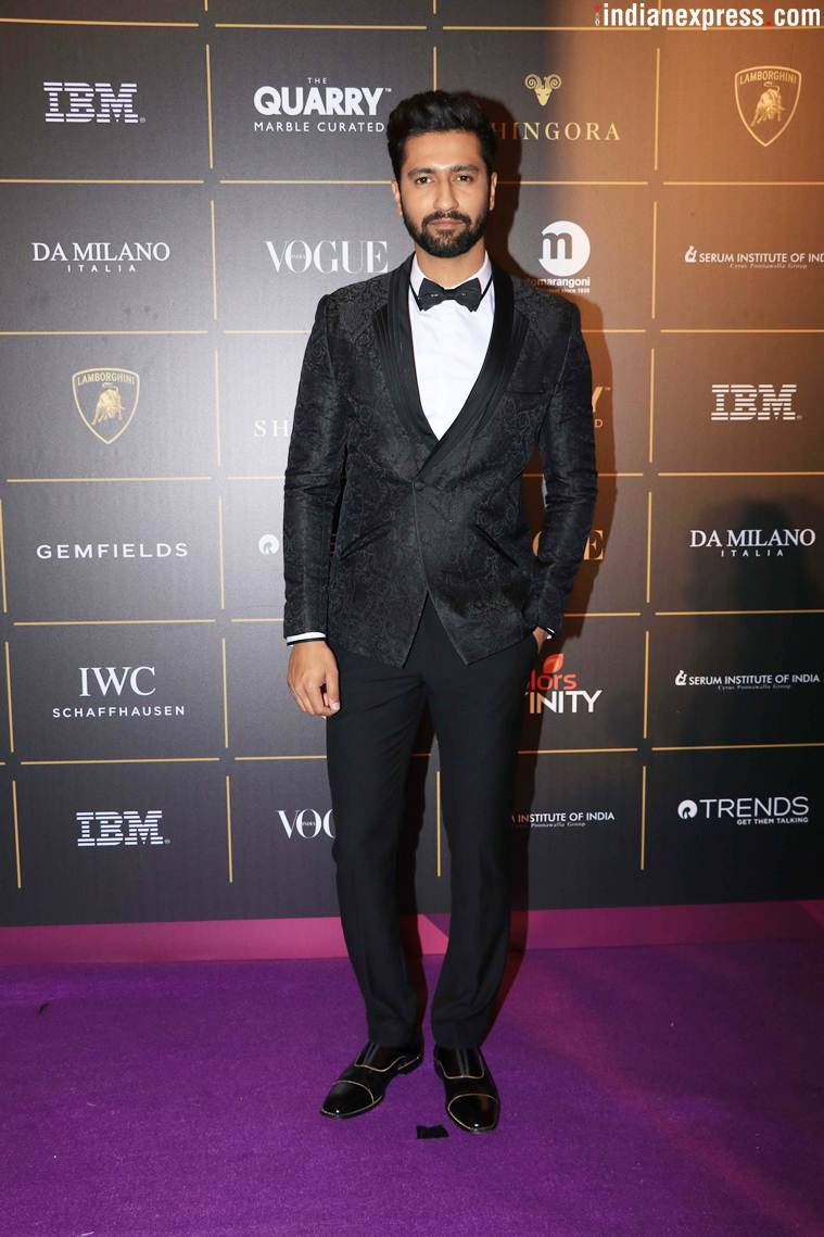Vicky Kaushal at Vogue Women of the Year