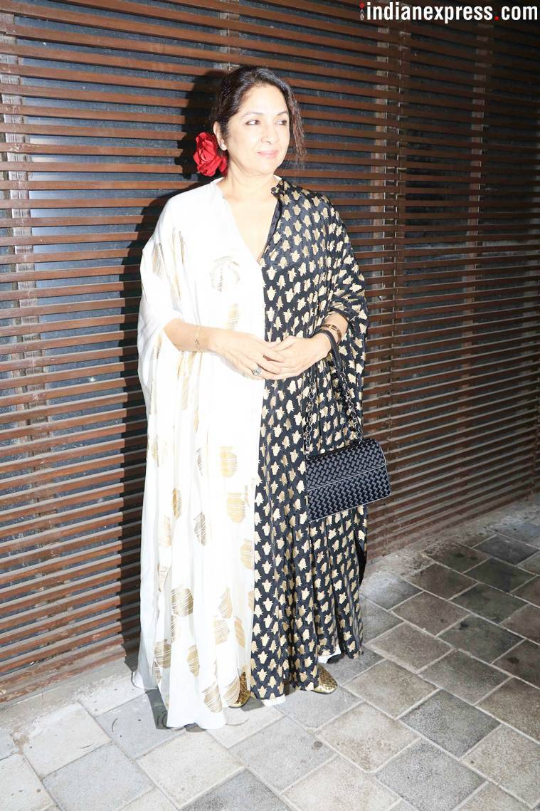 neena gupta at badhaai ho success bash