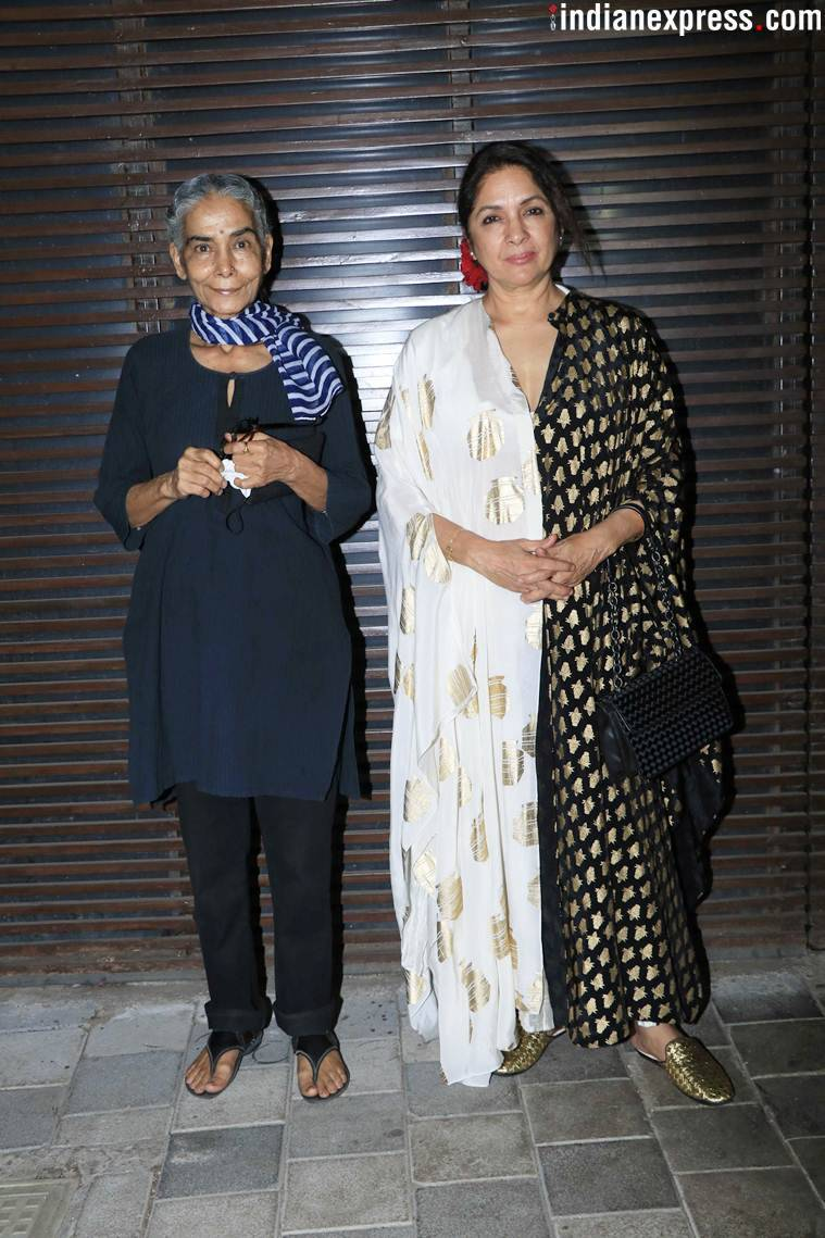 Neena Gupta with Surekha Sikri
