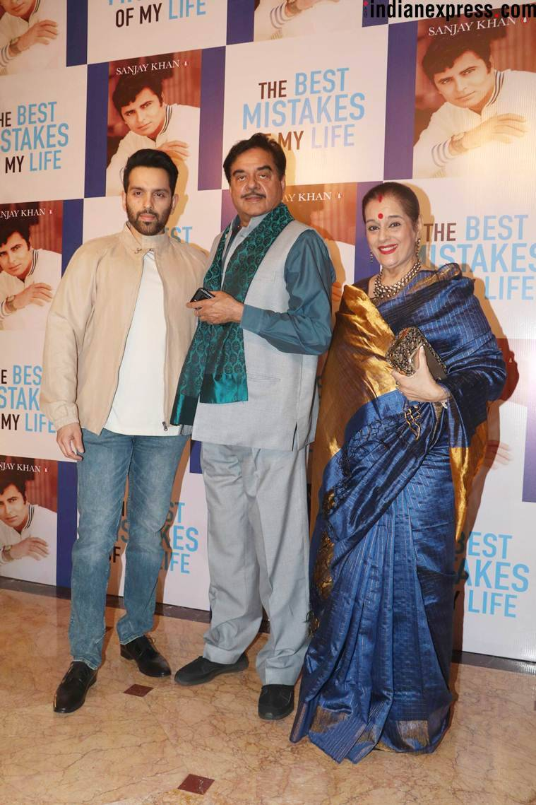 shatrughan sinha at sanjay khan autobiography launch