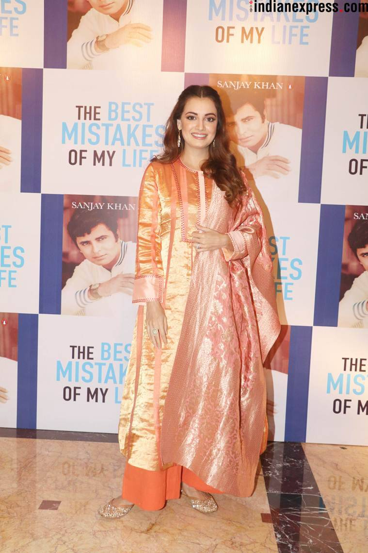dia mirza at sanjay khan book launch