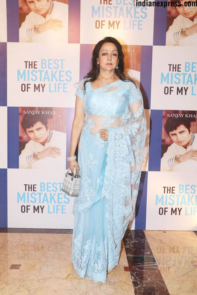 hema malini at sanjay khan book launch