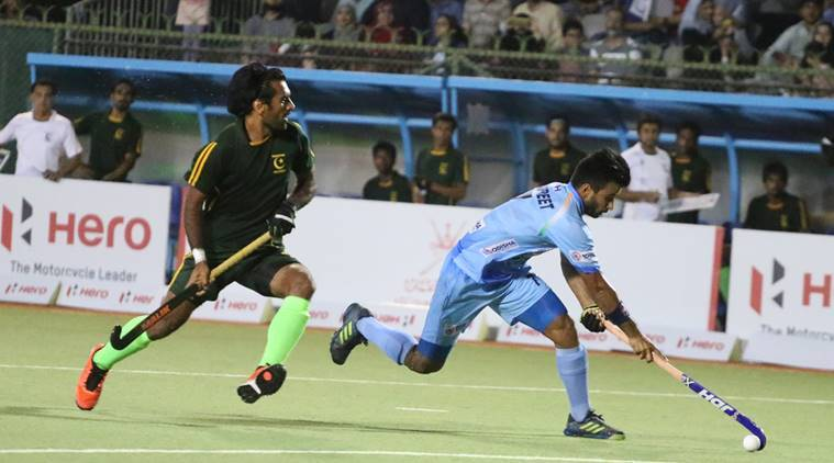 India vs Pakistan live hockey score