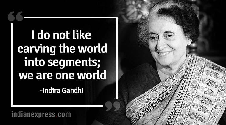 Indira Gandhis 34th Death Anniversary Inspirational Quotes By