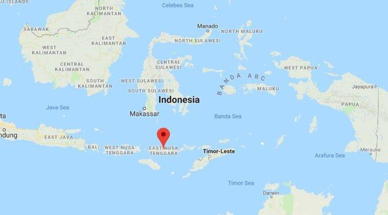 Volcano erupts on disaster-hit island of Sulawesi
