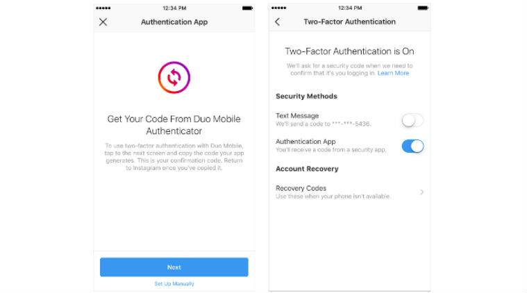 Instagram rolls out support for third-party authentication