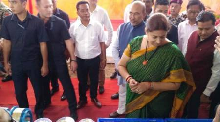 Smriti Irani assures Manipur of central govt's support to develop textile industry
