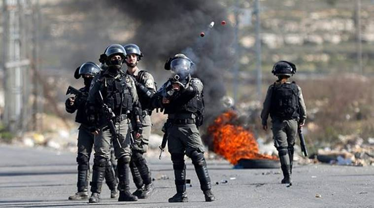 """""""A Palestinian attempted to stab a soldier at the site. Our troops fired at him and he was killed. There were no casualties among our forces,"""" the military said in a statement."""