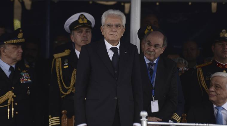 Italian president calls World War I a warning to Europe to co-exist