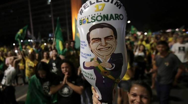 Brazil elects far-right congressman Jair Bolsonaro to presidency