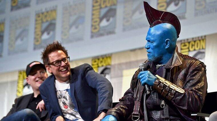 guardians of the galaxy actor michael rooker on james gunn getting suicide squad