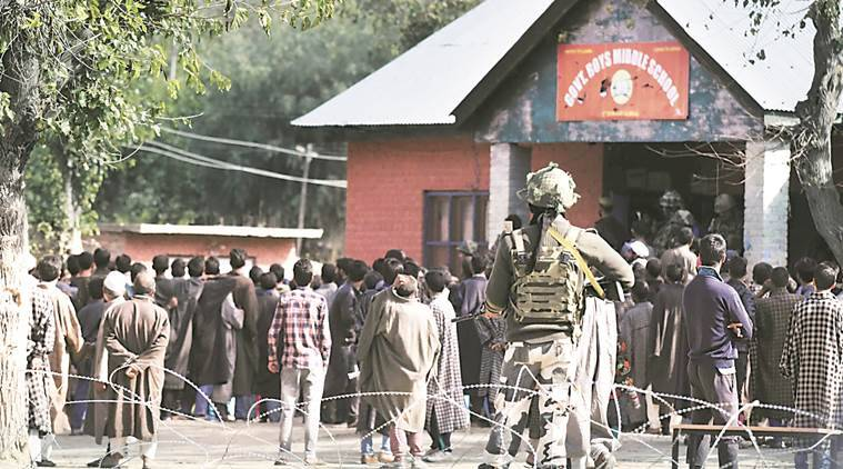 Jammu & kashmir polls, jk elections, j&k news, panchayat polls, jk news, indian express