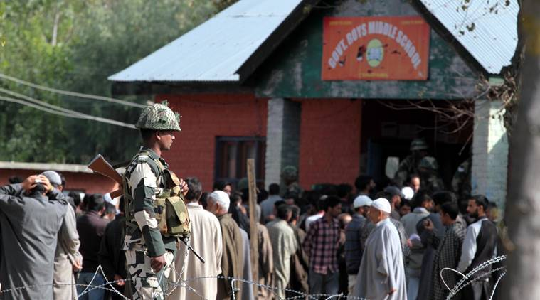 Jammu and Kashmir Municipal Election 2018 Voting LIVE UPDATES: A thick security blanket has been thrown around the polling stations. (File)