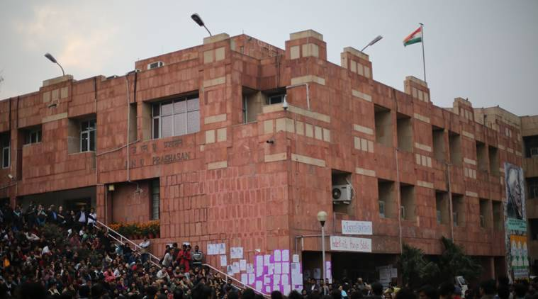 Lacking infra, School of Engineering in JNU faces student anger