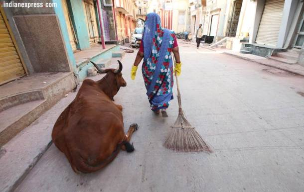 Meet the Swachh Bharat footsoldiers who clean where Mahatma Gandhi once walked