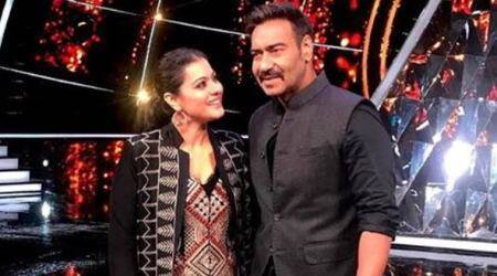 Kajol and Ajay Devgn have an 'awesome' experience on Indian Idol10