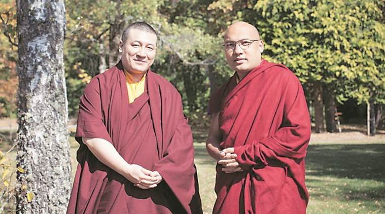 Karmapa meets Karmapa in France, say aim to end rift