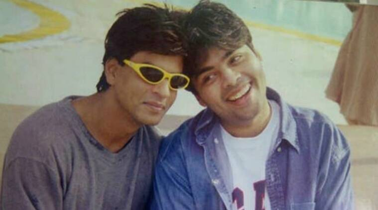 karan johar and shah rukh khan in kuch kuch hota hai