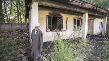 J&K local body polls: BJP candidates' crop burnt, house gate doused withpetrol