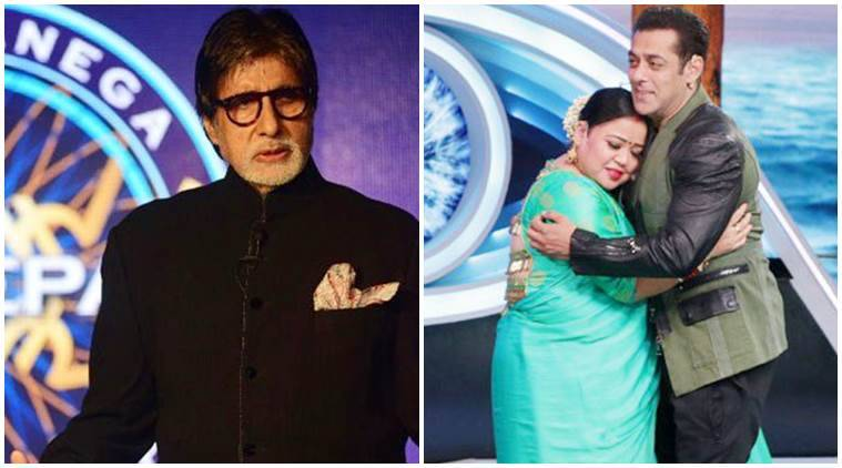 KBC 10 Bigg Boss 12 Most watched Indian television show TRP charts