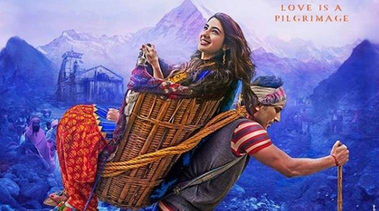 sara ali khan and sushant singh rajput in kedarnath