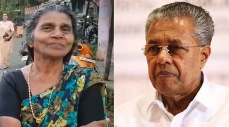 'Please forgive this mother': Woman who used casteist slur on CM Pinarayi Vijayan apologises