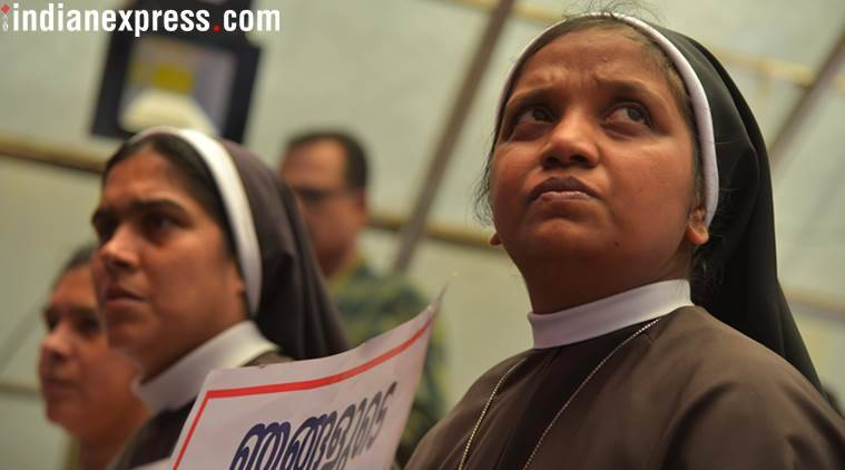 Kerala rape case: Nuns who demanded bishop's arrest asked to comply with transfer order