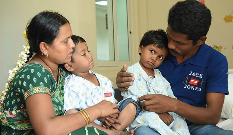 Only an expensive surgery can ensure both my kids' survival. Please help me save them