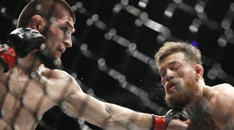 UFC 229: Khabib Nurmagomedov beats Conor McGregor. (Source: AP)