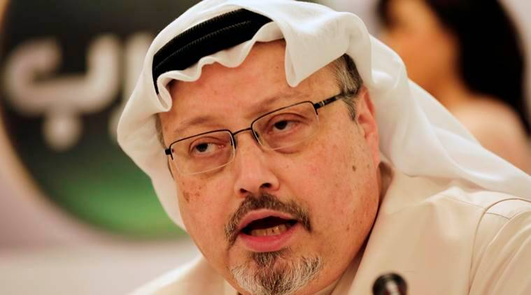 Saudi journalist Jamal Khashoggi, a columnist for The Washington Post newspaper, who apparently went missing after going to the Saudi Consulate in Istanbul. (AP Photo)