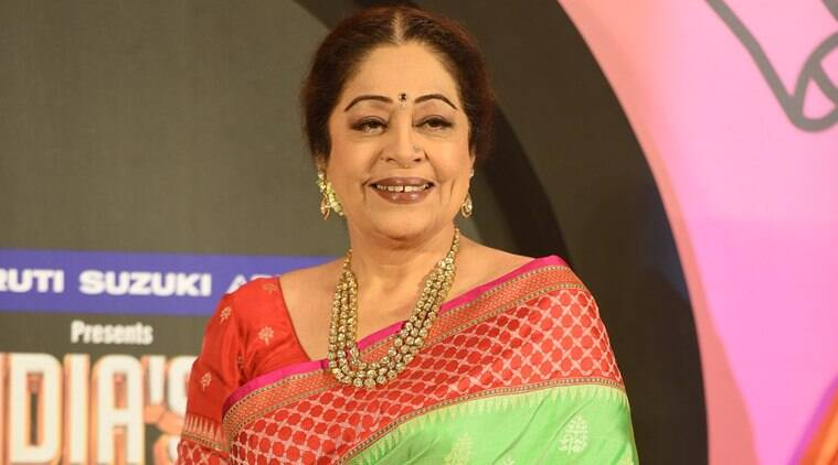 MP Kirron Kher 'raids' parking lot, Congress says 'political gimmick'