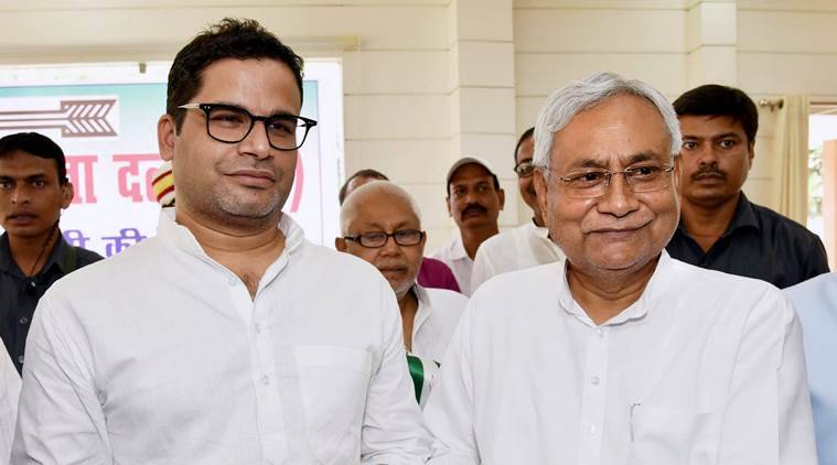 Bihar, BJP, JD(U), Nitish Kumar, Prashant Kishor, BJP JDU alliance, Indian express