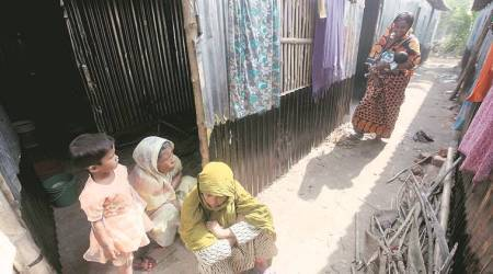 Hardaha, the only camp in West Bengal: Fearing crackdown, detention, Rohingya families start leaving