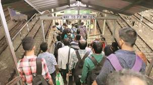West Bengal: Two dead, 14 injured in stampede at Santragachi station foot over bridge
