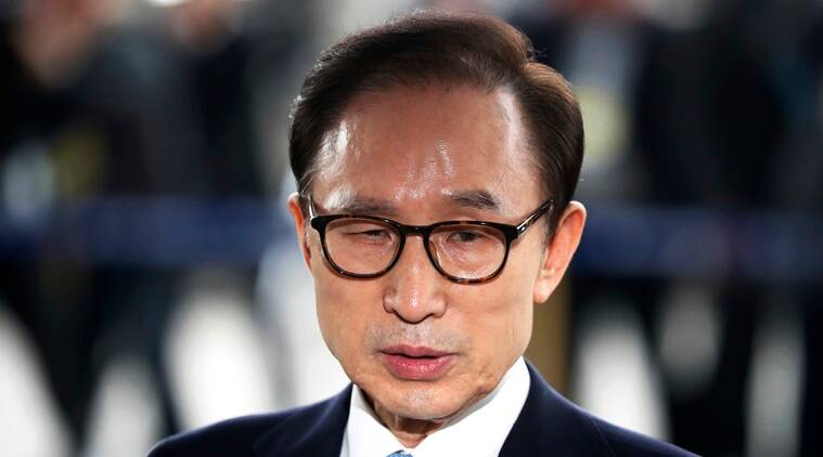 South Korea's former president Lee gets 15-year term for corruption